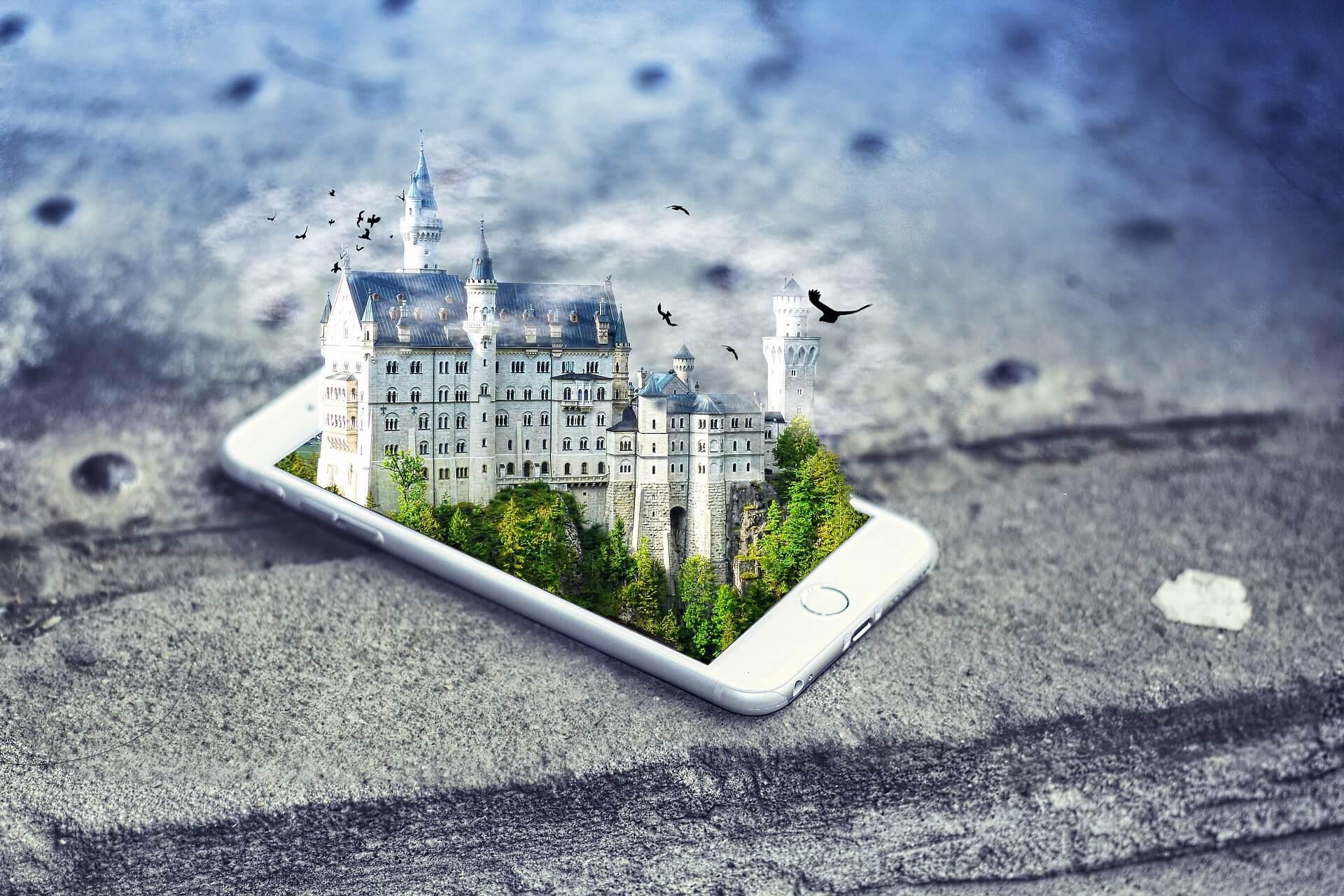 Smartphone Beispiel Virtual Reality