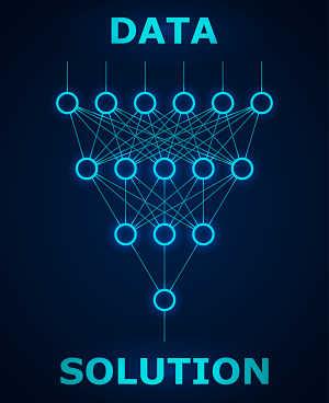 Abbildung Neuronale Netzwerke beim Deep Learning